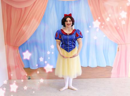 Ballet Class With A Princess| Snow White