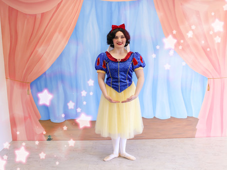 Ballet Class With A Princess| Snow White