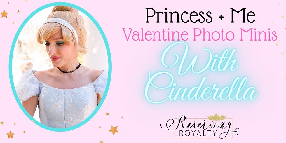 Valentine Princess + Me Photo Sessions