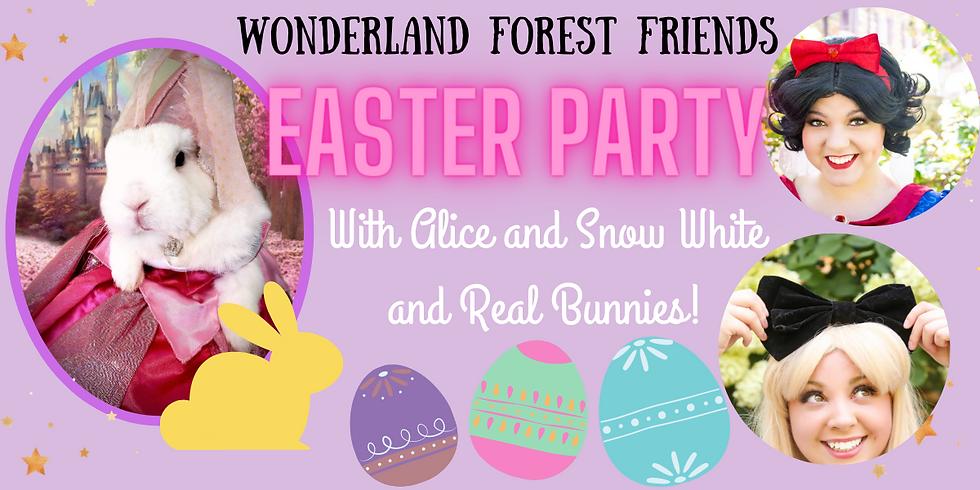 Wonderland Forest Friends Easter Party
