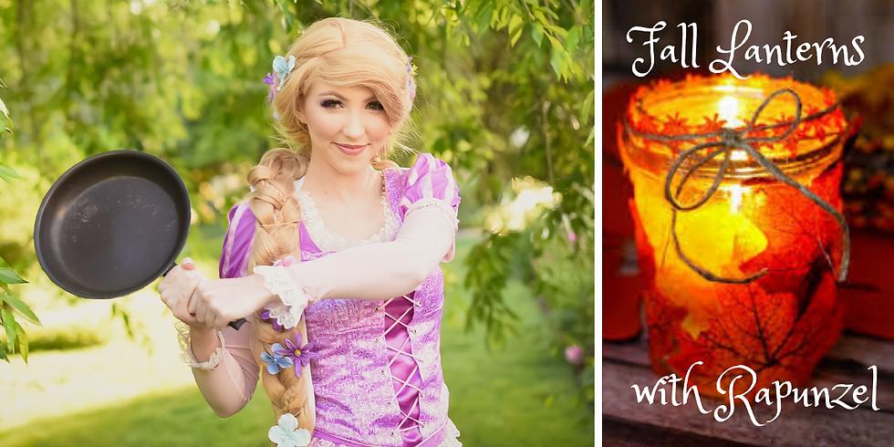 Fall Lanterns with Rapunzel