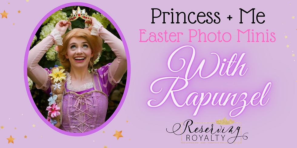 Easter Princess + Me Photo Sessions