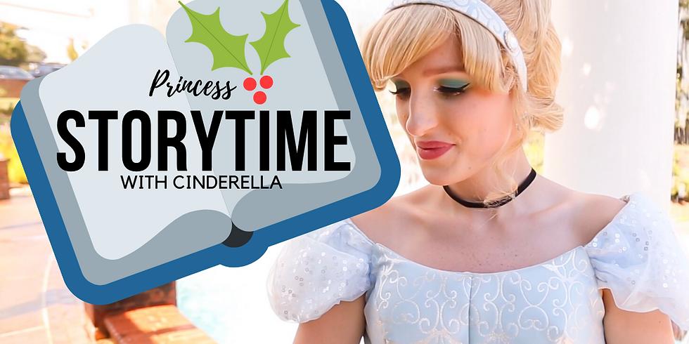 Christmas Princess Storytime With Cinderella
