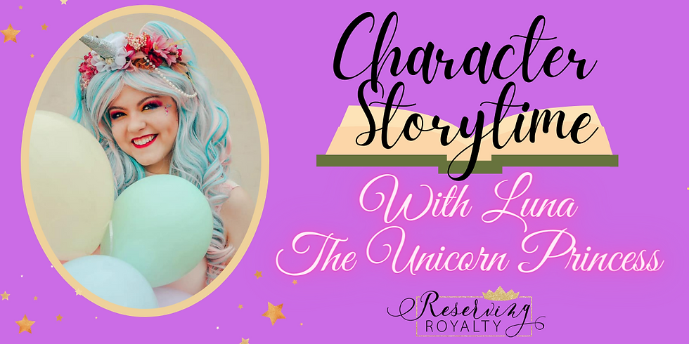 Storytime with Luna Unicorn Princess