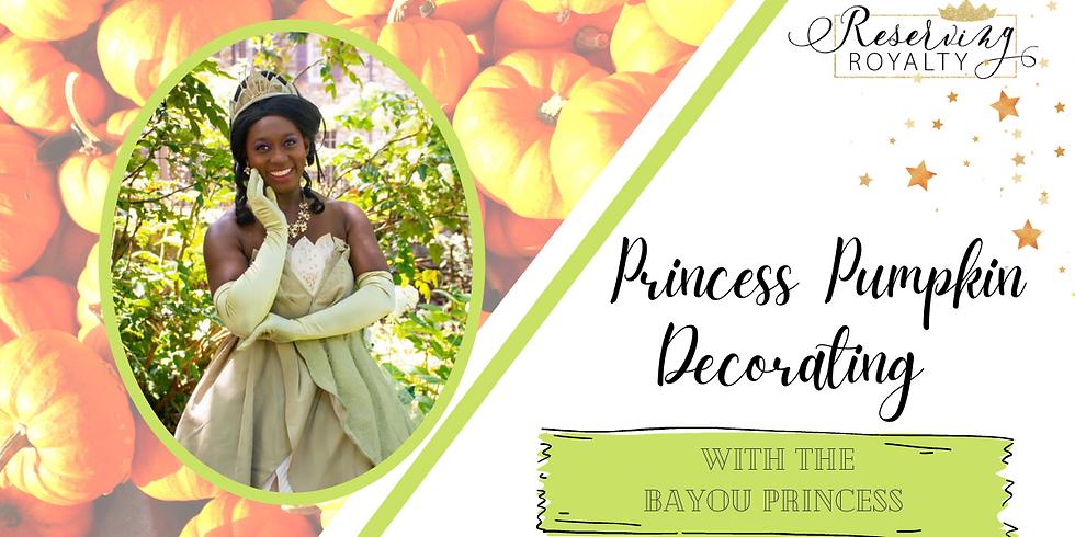 Pumpkin Decorating with The Bayou Princess
