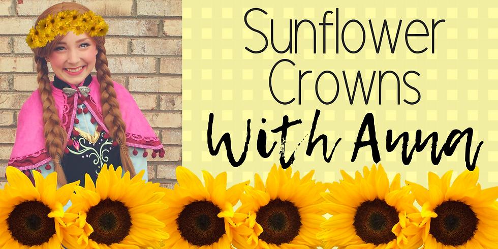 DIY Sunflower Crowns with Anna