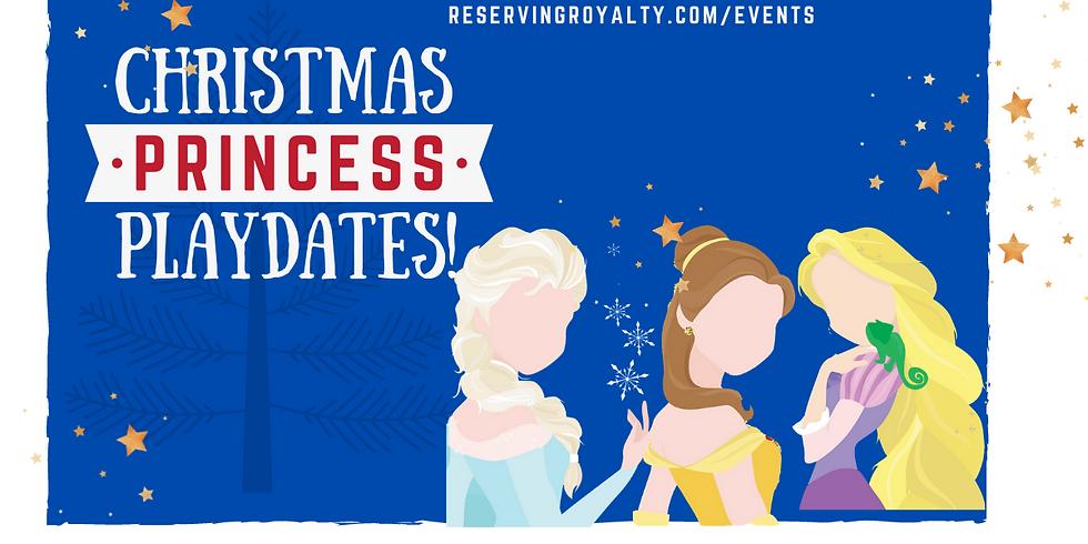 Christmas Princess Playdates on Sunday
