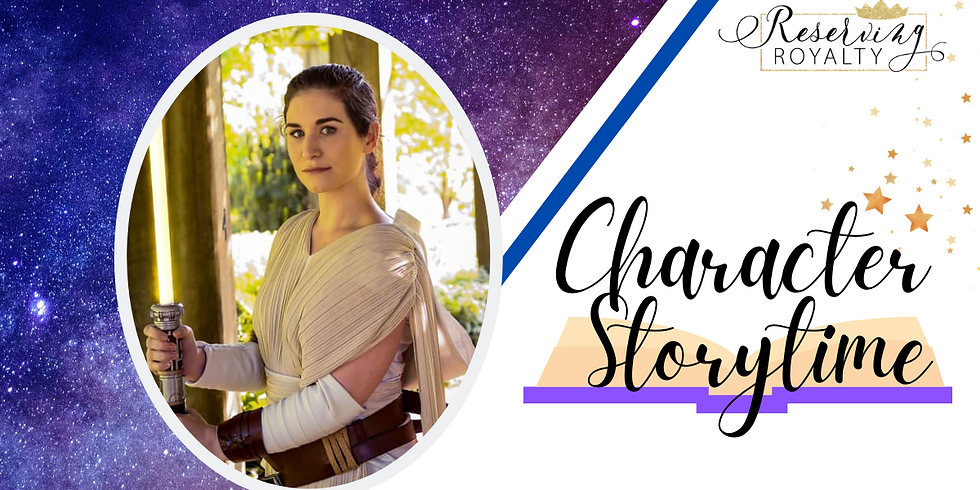 Character Storytime With The Galaxy Warrior
