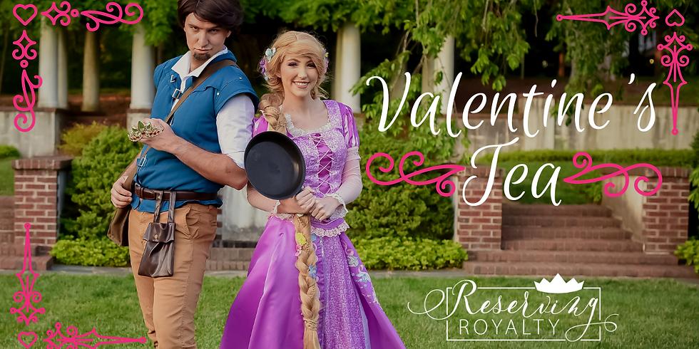 Valentine's Tea Party with Rapunzel & Prince