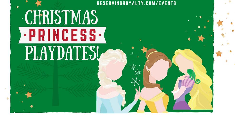 Christmas Princess Playdates on Saturday