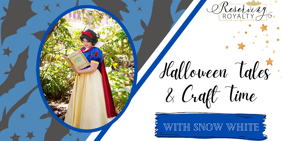 Not-So-Scary Halloween Tales and Craft Time with Snow White