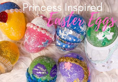 Disney Princess Inspired Easter Eggs