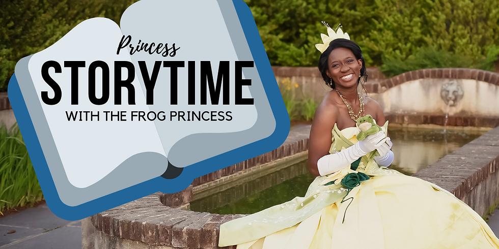Princess Storytime With The Frog Princess
