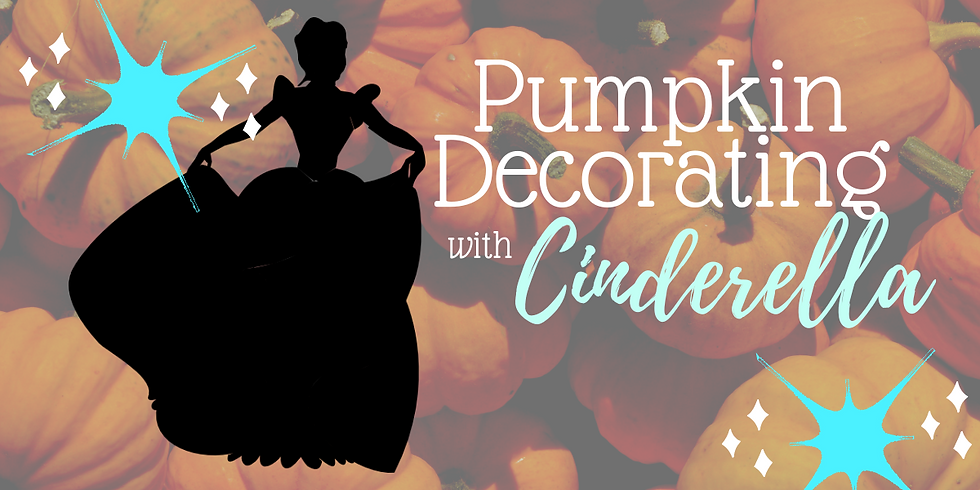 Pumpkin Decorating with Cinderella