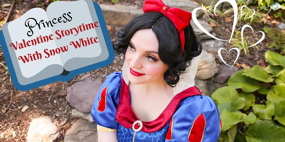 Valentine Princess Storytime With Snow White