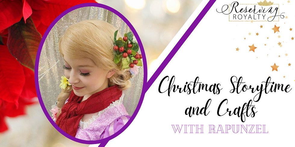 Christmas Storytime and Crafts with Rapunzel