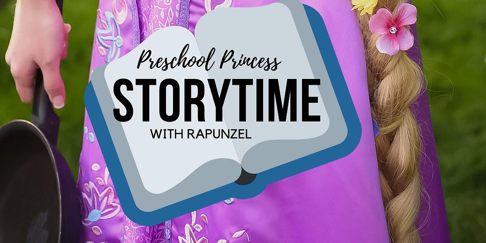 Preschool Princess Storytime With Rapunzel