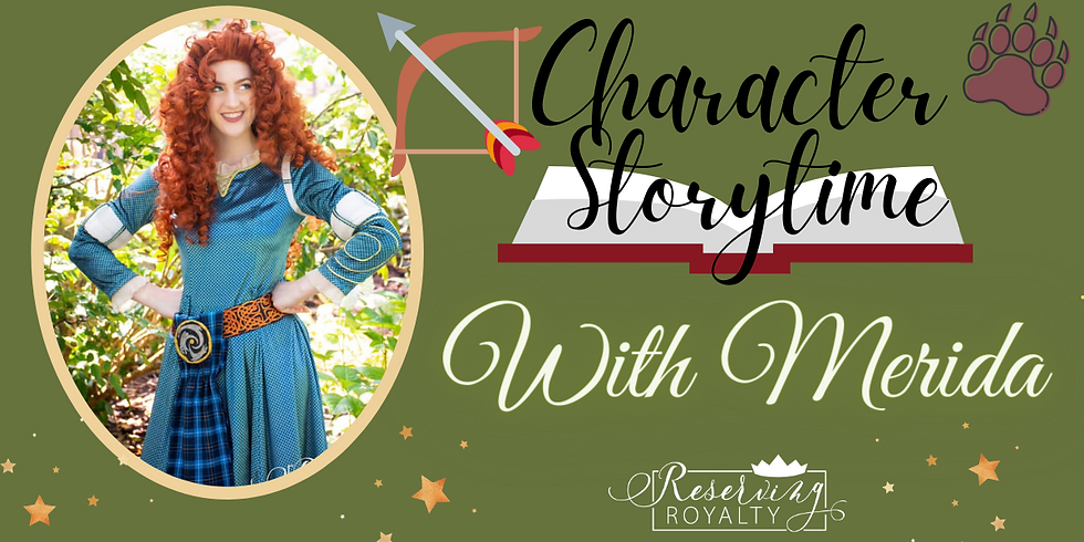 Storytime with The Scottish Princess