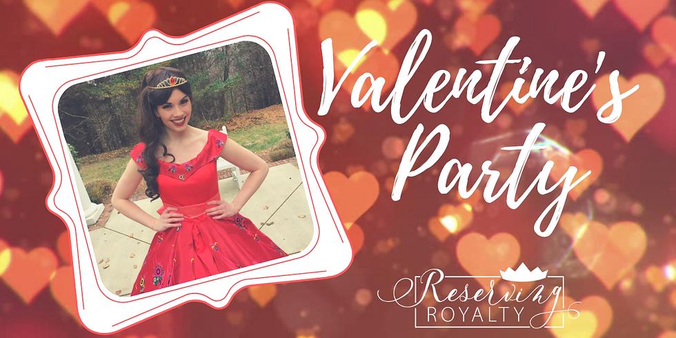 Princess Valentine's Party