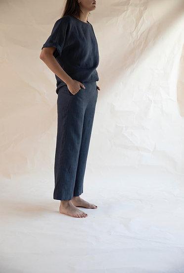 broek BOLD wijd linnen