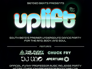 Saturday 11/21: UPLIFT 4 - Bended Beats Dance Party