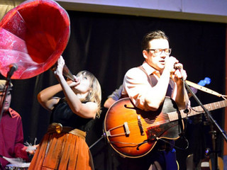 the duke of uke and his novelty orchestra & orpheum bell