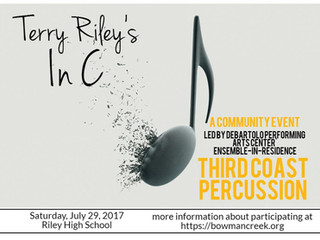 In C by Terry Riley with Third Coast Percussion and Friends