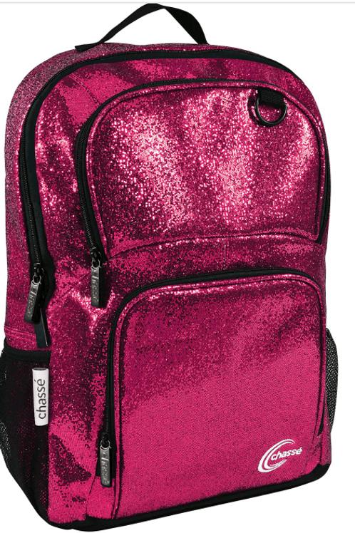 Pink or Black Sparkle Bookbag