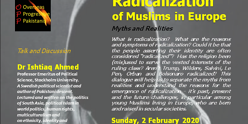 Radicalization of Muslims in Europe