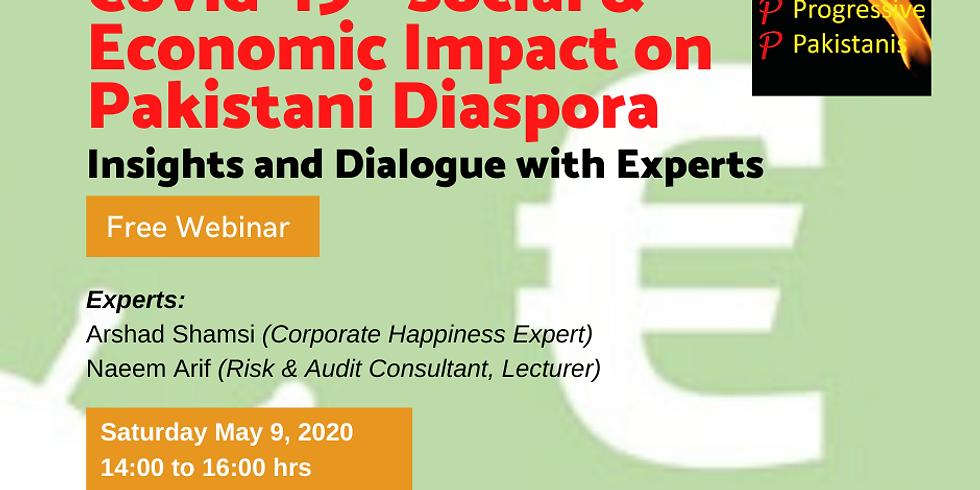 Covid-19 Crisis - Social & Economic Impact on Pakistani Diaspora