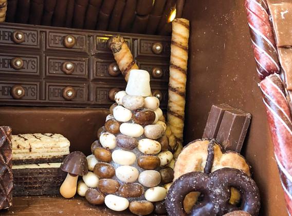 Chocolate Attic with Dresser