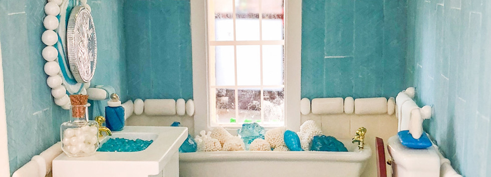 Candy Bathroom with Gum & Marshmallow Toilet Paper