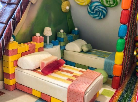 Boy/Girl Room, Lego Beds & Gum Quilts