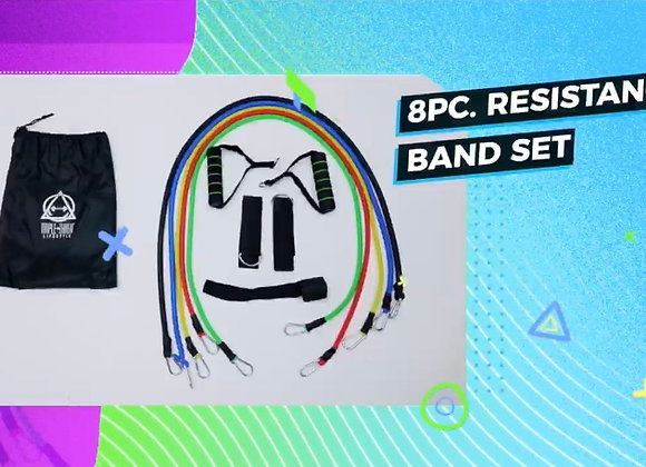 8 Piece Cable Resistance Band