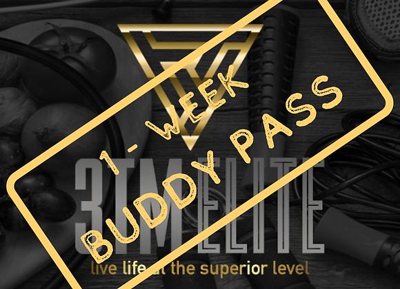 1 Week Buddy Pass