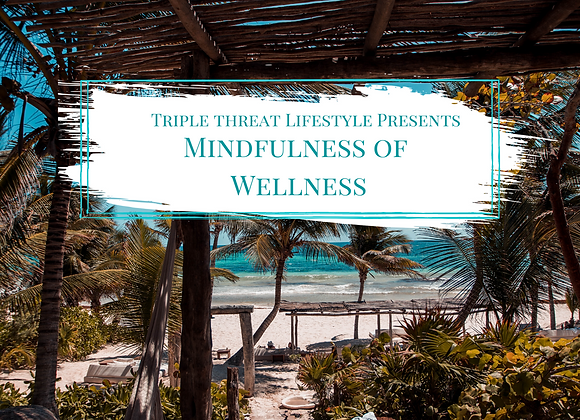 Mindfulness of Wellness Activity Guide & Workbook