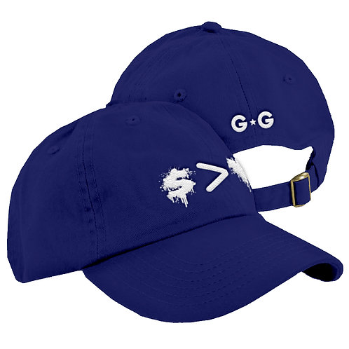 Money Greater Than Love Dad Cap