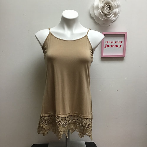 Sharon Young Lace Tank Top Size S