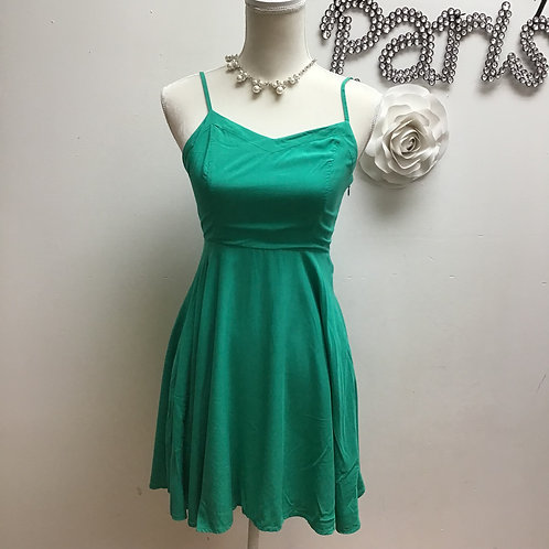 Green Old Navy Sleeveless Dress- Size XS