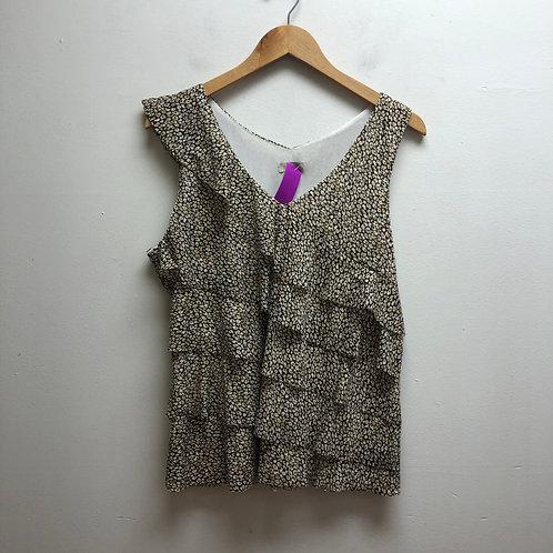 Madison cheetah print top