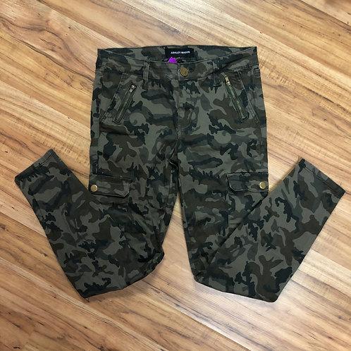 Ashley mason camouflage jeans
