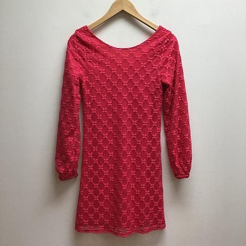 Love fire hot pink dress