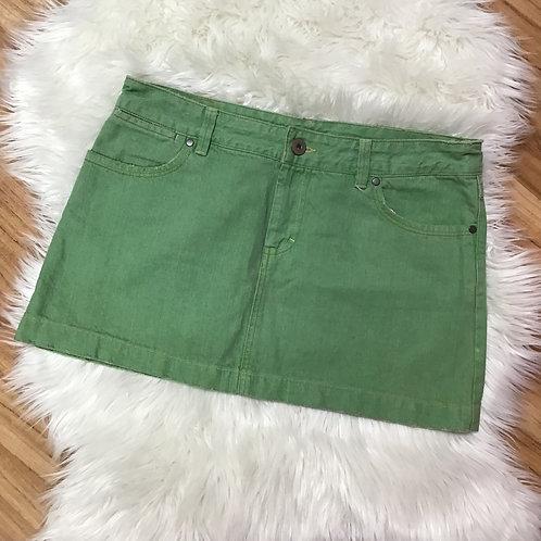 Denim  Mini AE Skirt