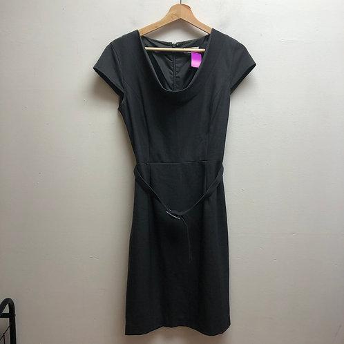Calvin Klein gray dress with belt