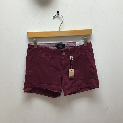 NWT American eagle maroon shorts
