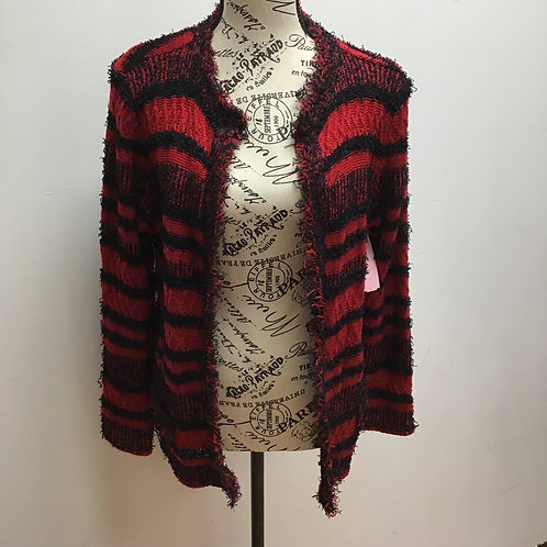Red & black sweater