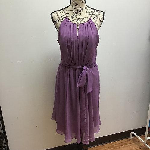 David's bridal purple dress