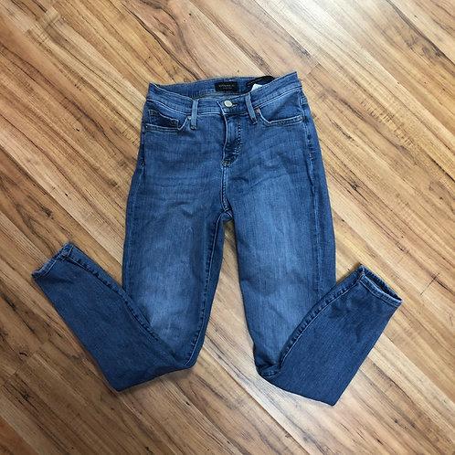 Banana republic mid-rise skinny jeans