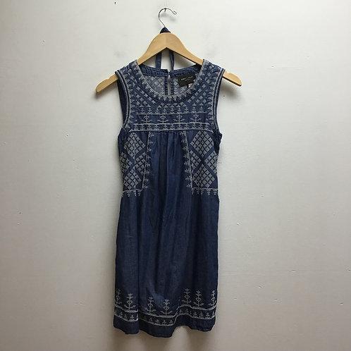 SOLD--Romeo & Juliet blue dress