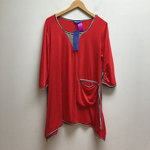 NWT Aster red dress
